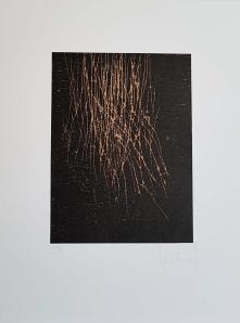 Thierry Le Saëc, Série de 3 gravures, 66 x 50 cm
