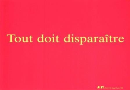 CLAUDE Magali Sans titre, 1998 Sérigraphie par Alain Buyse affiche N°45 38x53 cm